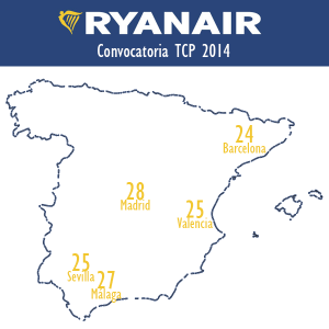 convocatoria tcp ryanair