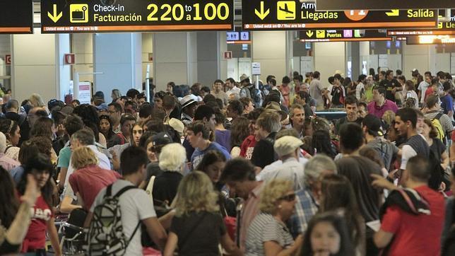 Se prevé 15.573 movimientos en los aeropuertos españoles