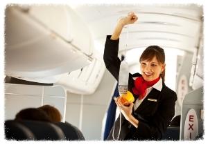 10 razones para ser y trabajar de auxiliar de vuelo