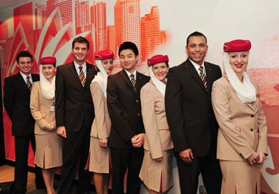 Oferta de empleo TCP: Emirates busca Auxiliares de Vuelo en Barcelona