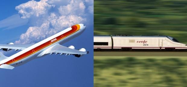 Iberia se disputa con Renfe el transporte de pasajeros