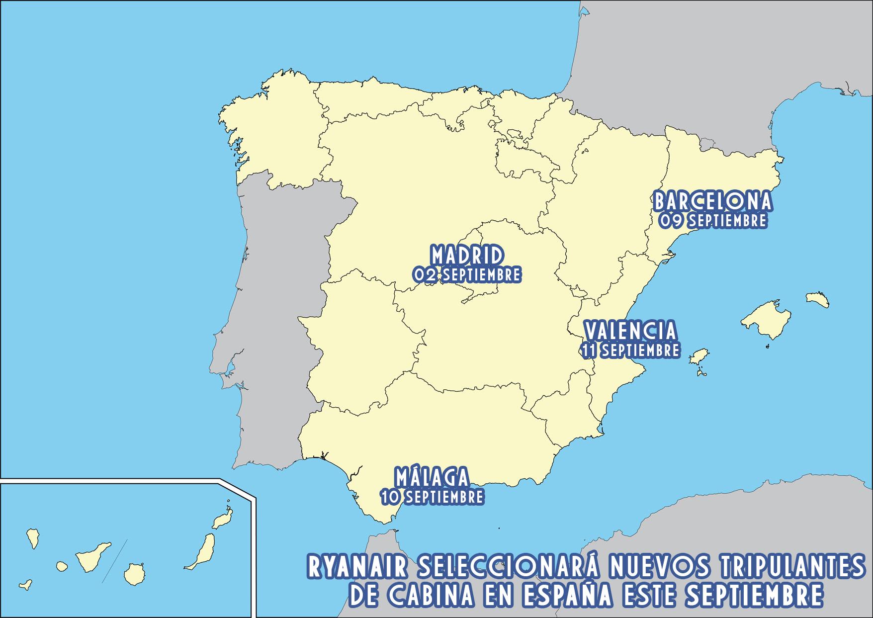 Los aeropuertos más rentables de España