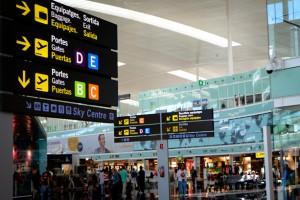 Más de 2,8 millones de pasajeros en el aeropuerto de Barcelona durante enero de 2017