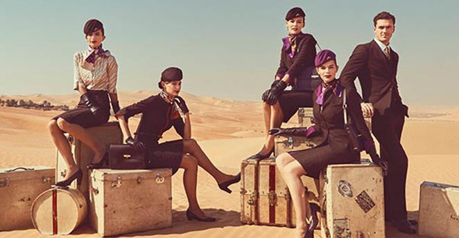 Nuevo uniforme para Auxiliares de Vuelo de Etihad Airways
