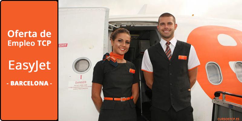 Oferta de empleo en Barcelona: EasyJet busca 120 Tripulantes de Cabina de Pasajeros