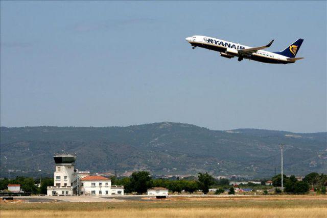 El aeropuerto de Tarragona suma tres rutas más con Ryanair durante este verano de 2016