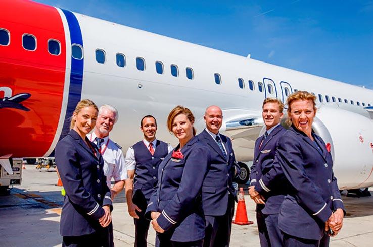 Felicidades a la compañía Norwegian por su quinto aniversario en el aeropuerto de Gran Canaria