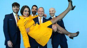 Oferta de empleo TCP: Ryanair busca Auxiliares de Vuelo en Barcelona el 21 de diciembre