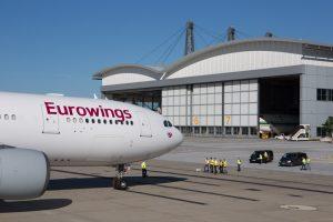 Nueva ruta de Eurowings desde el aeropuerto de Palma de Mallorca para verano de 2018