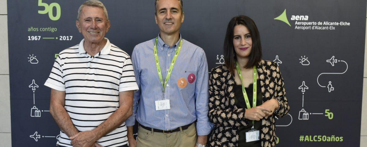 ¡Felicidades al aeropuerto de Alicante por su 50 aniversario!