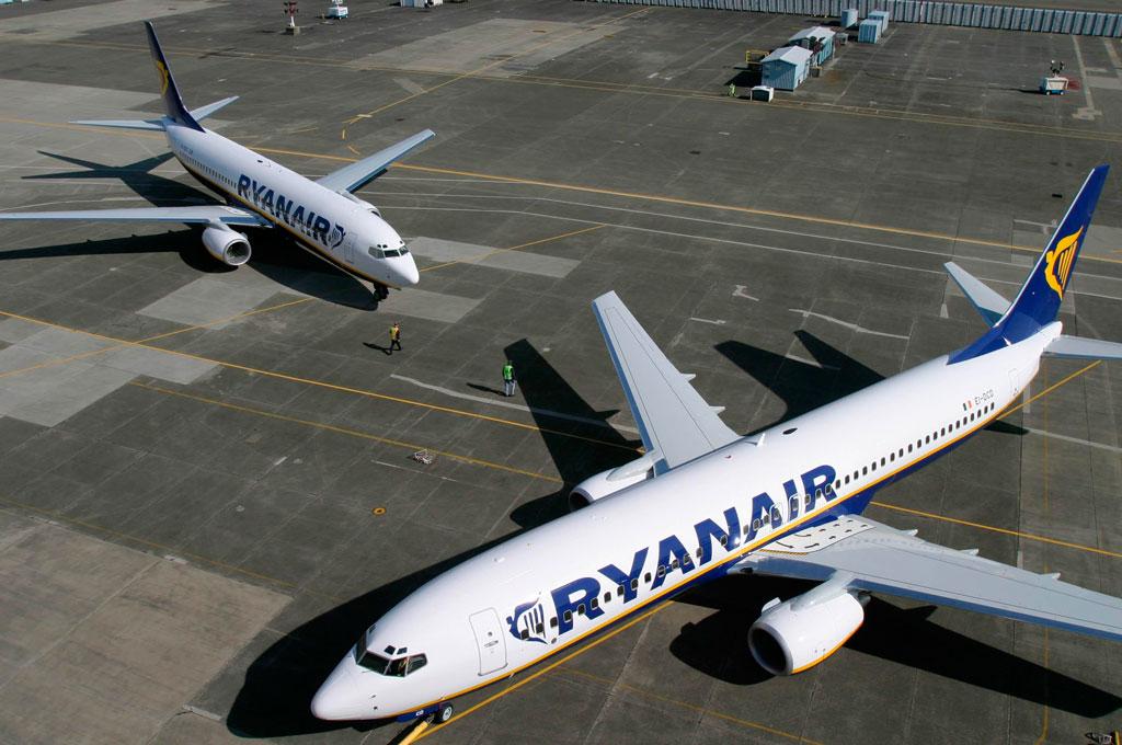 Nuevos vuelos de Ryanair en Alicante, Girona, Sevilla y Valencia para la temporada de verano 2018