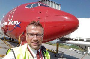 Entrevista a nuestro alumno Carlos, auxiliar de vuelo TCP en Norwegian