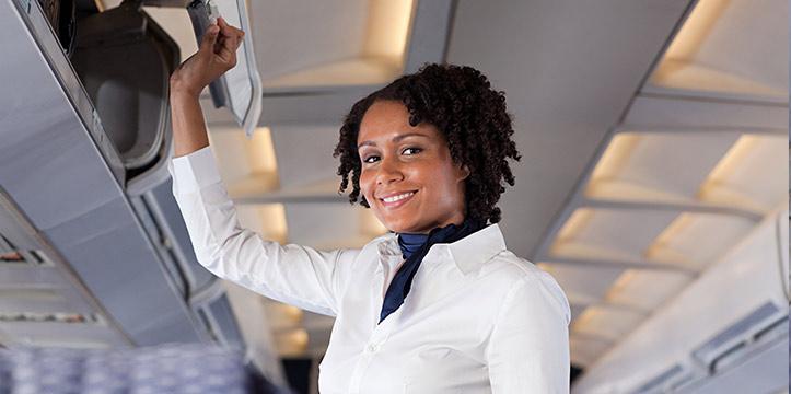¿En qué consiste el trabajo de un auxiliar de vuelo TCP?