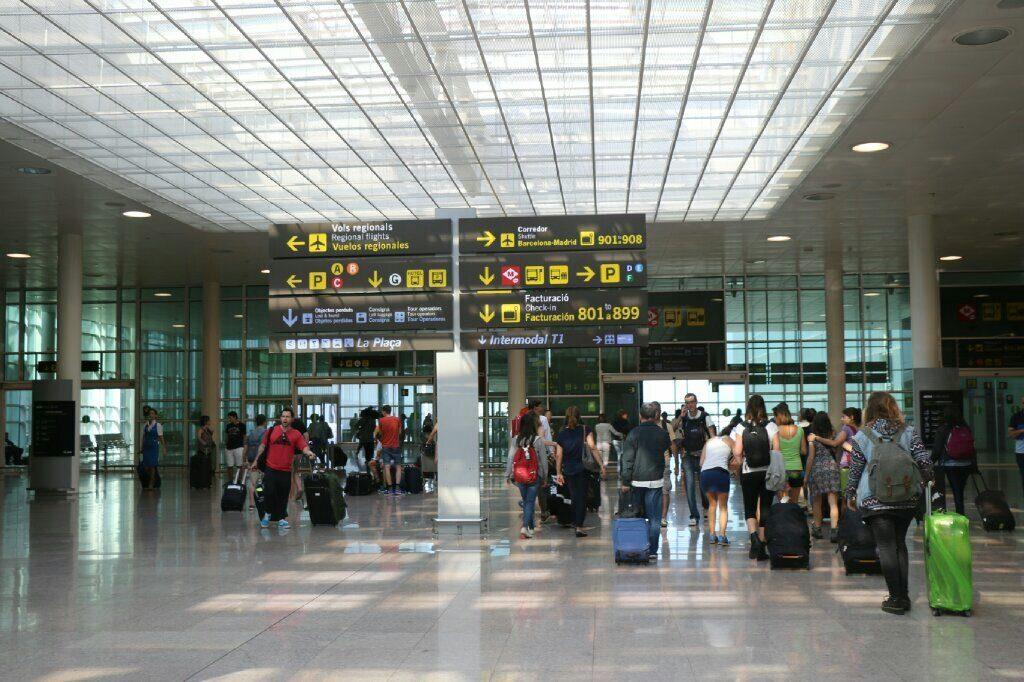 El aeropuerto de Barcelona es el que más crece de España, y el segundo en Europa