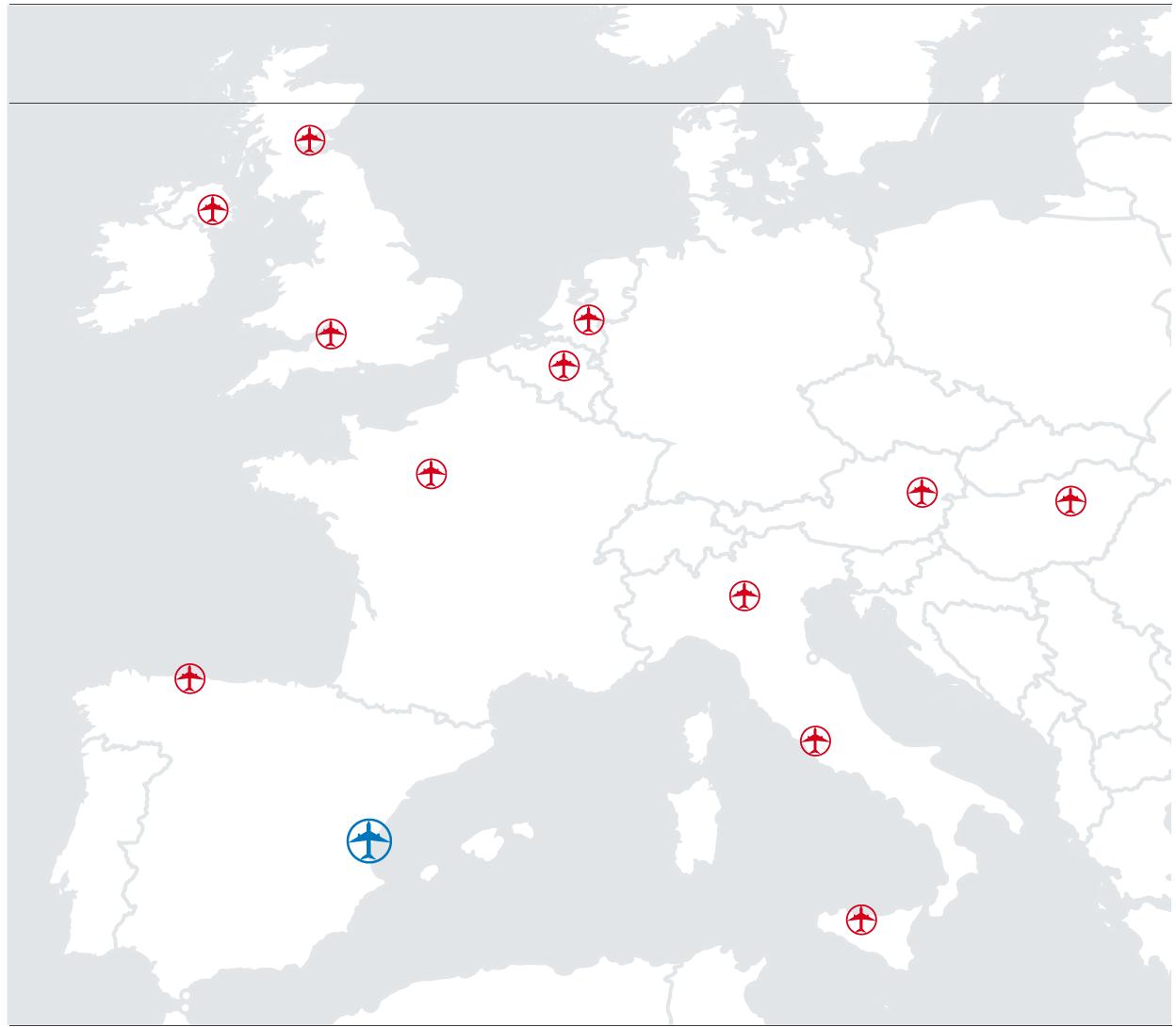 El aeropuerto de Valencia anuncia 12 nuevas rutas para este verano de 2018