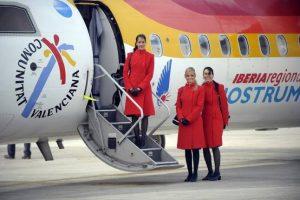 Oferta de empleo para TCP: Air Nostrum busca auxiliares de vuelo durante octubre de 2018 en Valencia, Almería, Alicante, Madrid y Sevilla