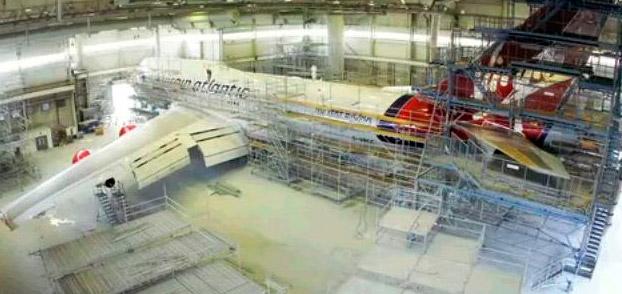 Curiosidades aeronáuticas: ¿Cómo se pinta un avión?