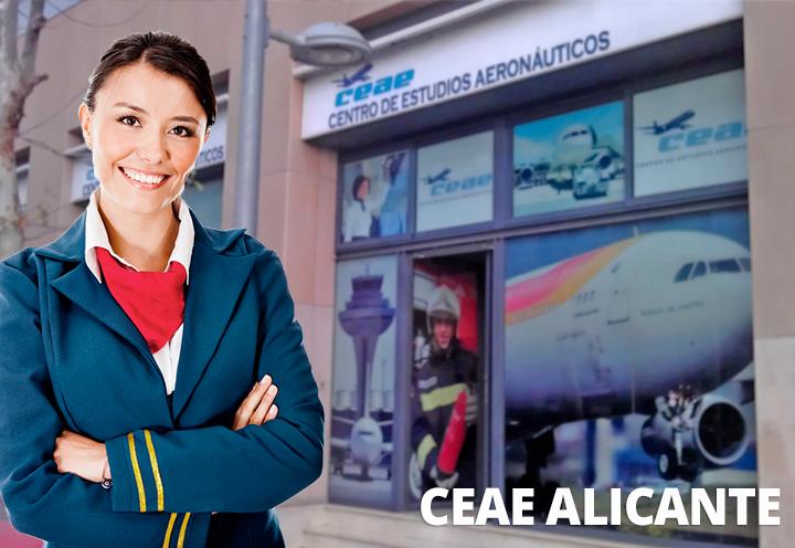 Curso Azafata Vuelo en Alicante