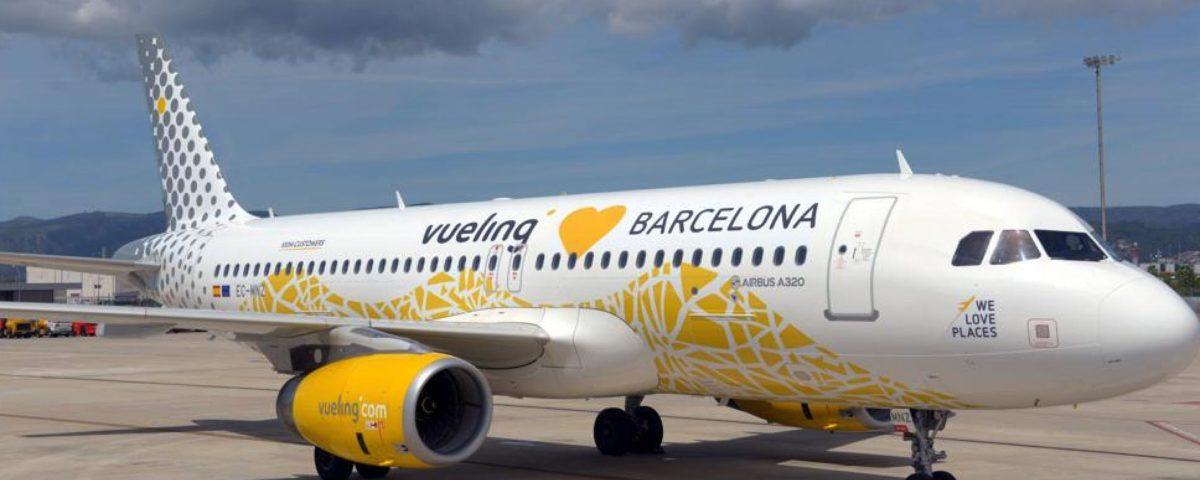 70 rutas de Vueling en el aeropuerto de Barcelona para los meses de junio y julio de 2020
