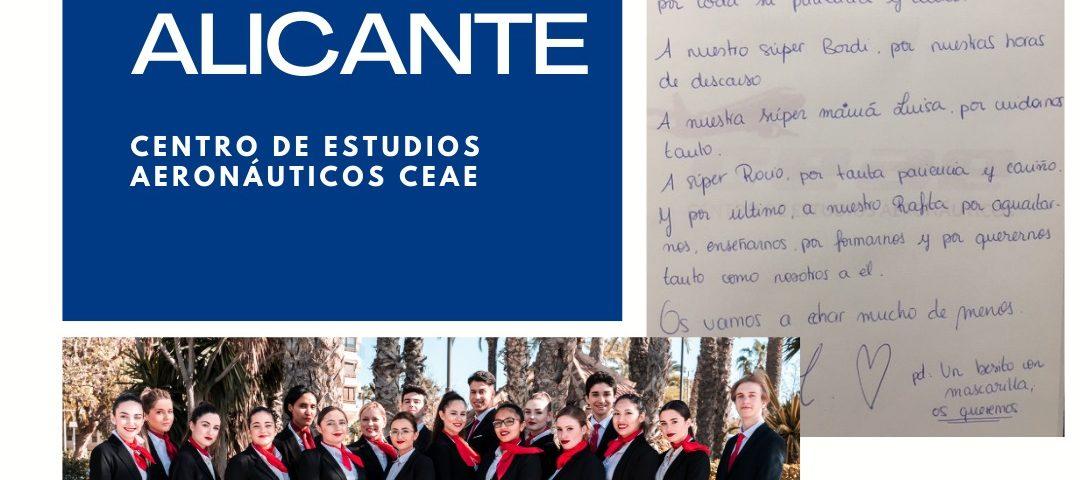Nuestra promoción 76M de Alicante termina su formación del curso TCP