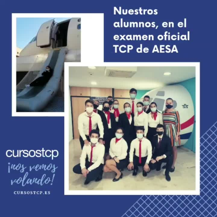 La promoción 78T de Alicante, en el examen oficial TCP de AESA