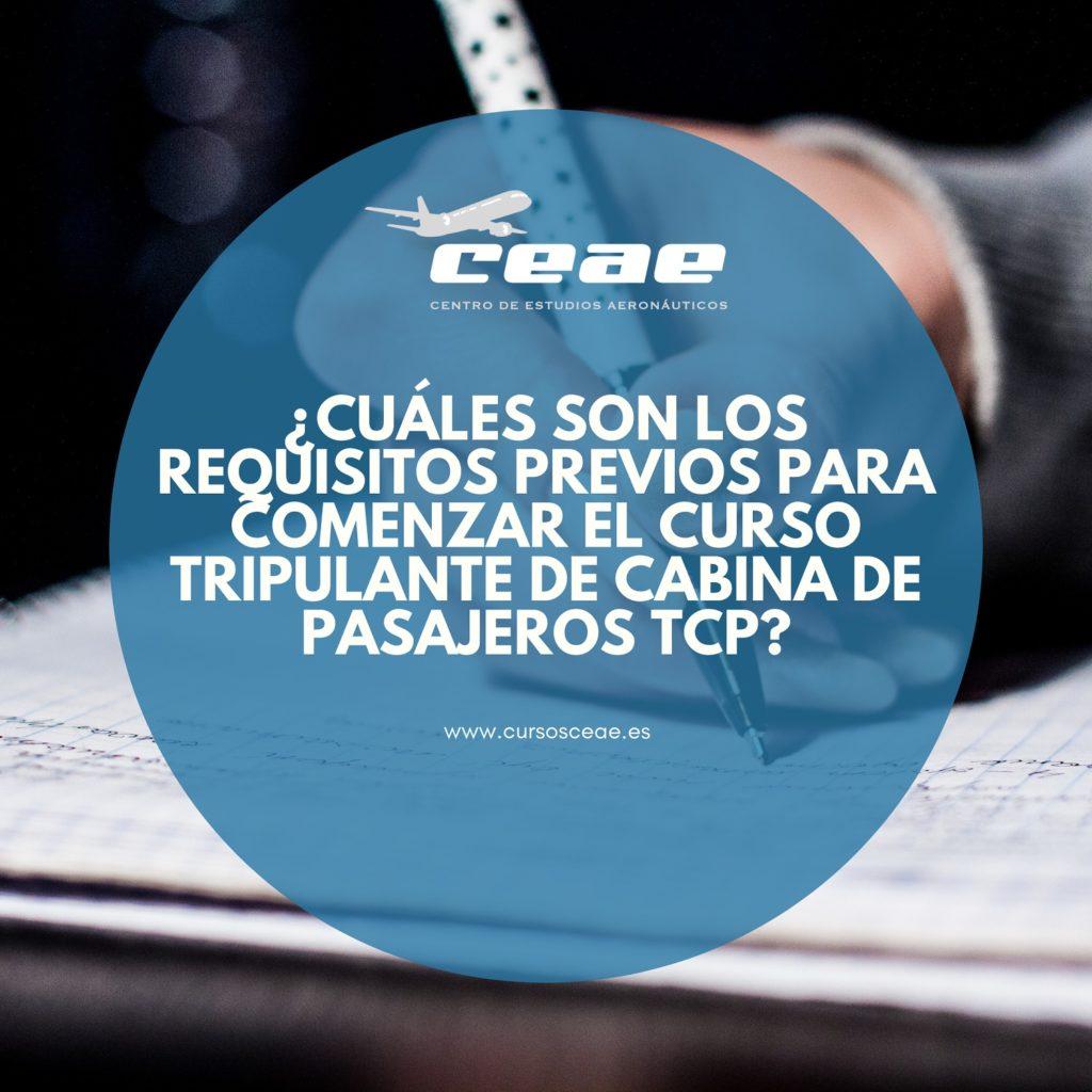 Curso de Tripulante de Cabina en Barcelona (TCP)