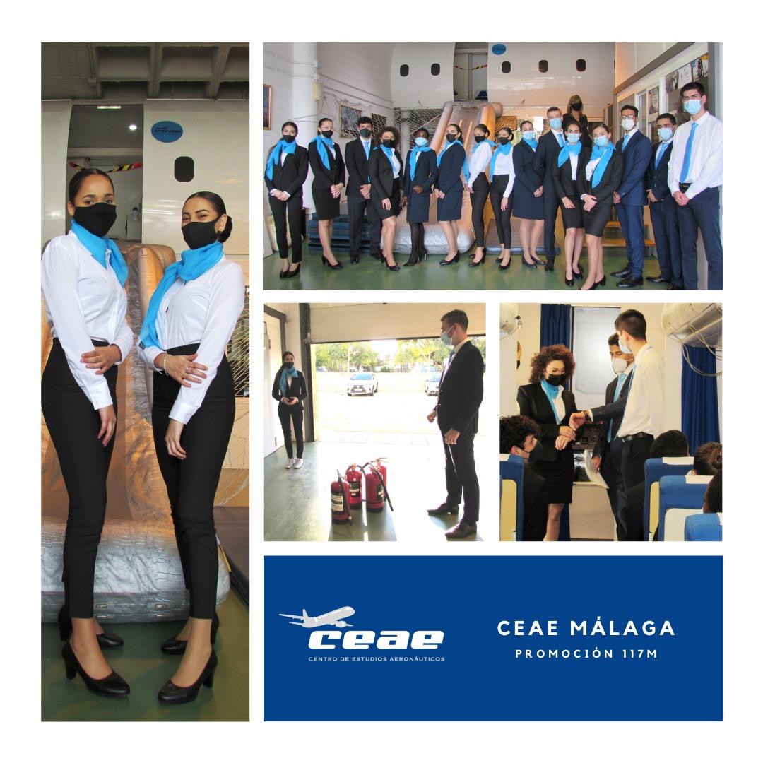 Enhorabuena a cinco alumnos de Málaga por conseguir un puesto de trabajo TCP en Ryanair durante enero de 2021