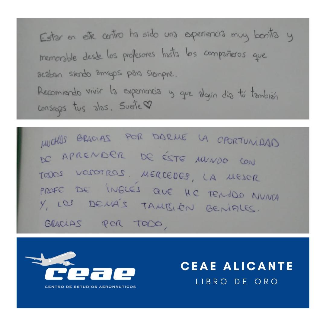 Testimonios de Bárbara y Nicole, alumnas de nuestro centro de Alicante
